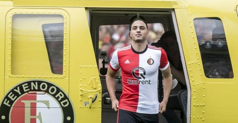 'De manier van spelen van Feyenoord trekt me heel erg aan. Dat past goed bij mij'