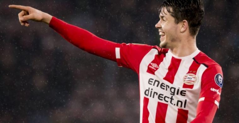 Ik heb wel even het gevoel gehad dat de transfer naar PSV zou kunnen mislukken