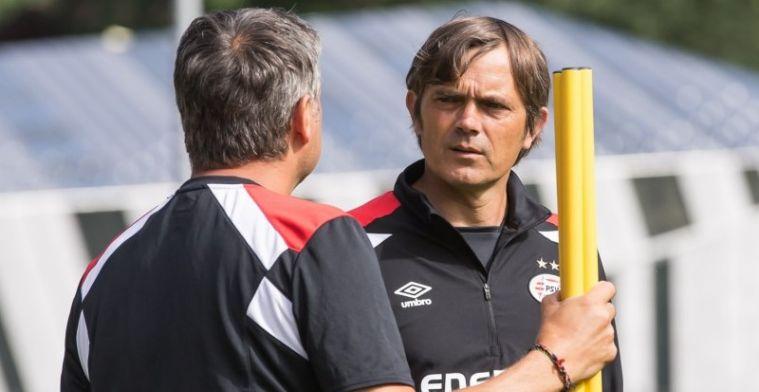 Strenge Cocu bouwt aan nieuwe ploeg: 'Ik verwacht dat van de midtwintigers'
