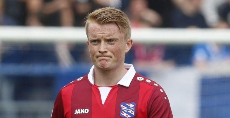 'Heerenveen wil 8 miljoen voor enfant terrible Larsson; bod van 7 miljoen'