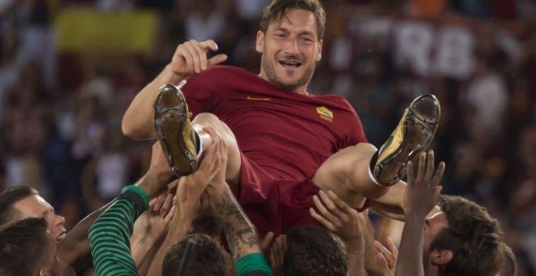 'Totti is een geweldige aanwinst voor de club, ook nu hij niet meer speelt'