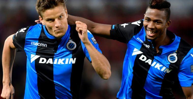 Club Brugge haalt opgelucht adem: Het gaat om ballen tegen de netten trappen