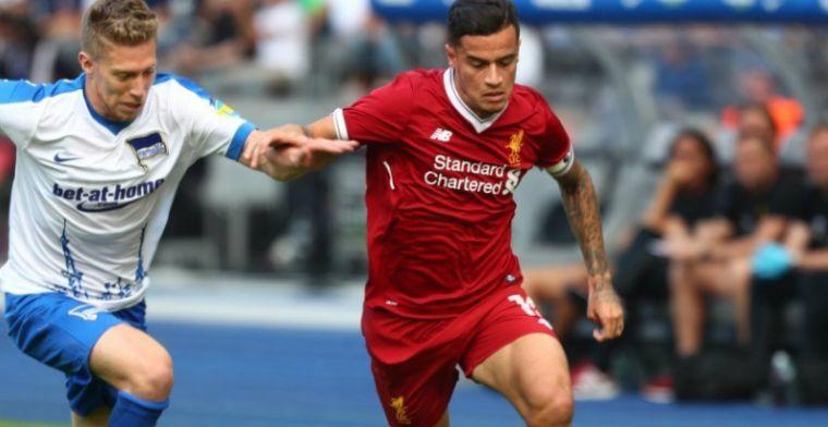 Chaos in Liverpool: club weigert transferverzoek van Coutinho