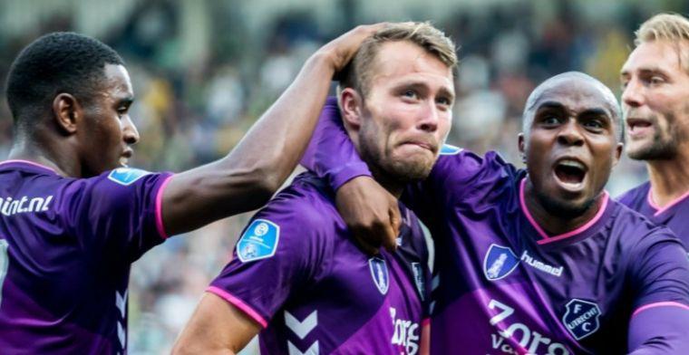 Debutanten scoren drie keer bij wervelend begin van FC Utrecht in Eredivisie
