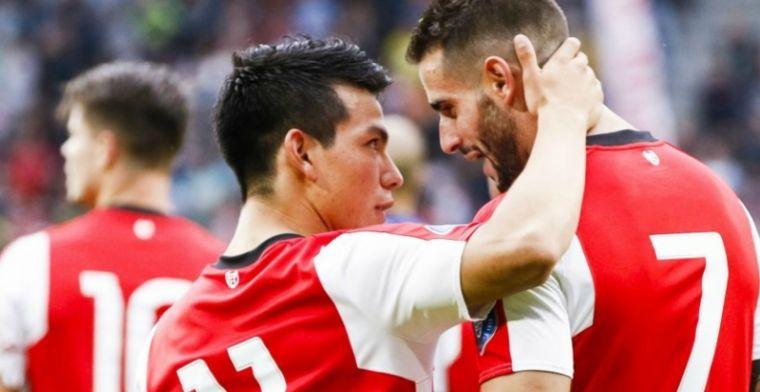 PSV en AZ starten seizoen spectaculair: hoofdrol voor Lozano en Maradona
