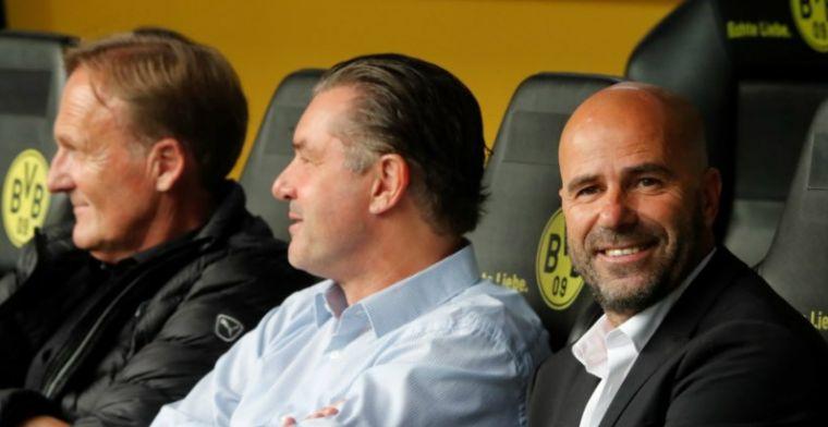Eerste zege voor Bosz met Dortmund: Aubameyang meteen in topvorm met hattrick