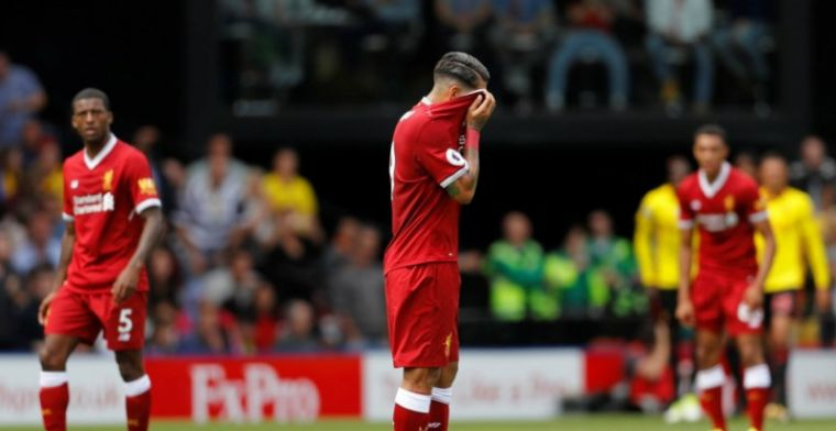 Drama voor Liverpool; Mignolet slikt vreselijk doelpunt in de blessuretijd