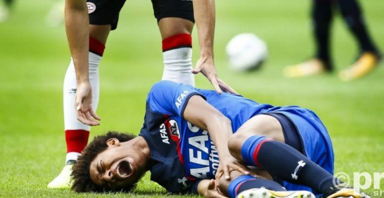 AZ-talent zwaar aangeslagen door knieblessure Stengs: Vreselijk