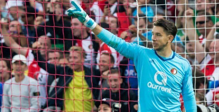 'Meevaller voor Feyenoord: Jones doorstaat training en kan zondag keepen'