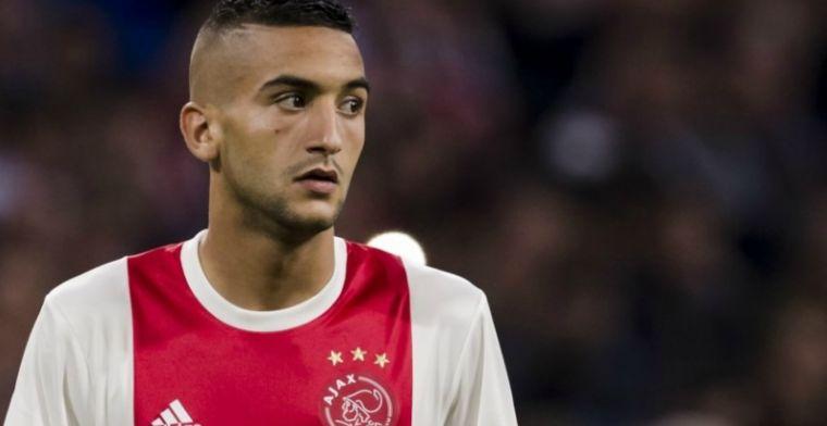 Ziyech vol vertrouwen met Ajax: Daarom zijn we verder dan Feyenoord en PSV