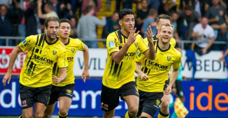 VVV geeft glans aan Eredivisie-rentree en zet Sparta met ruime cijfers weg