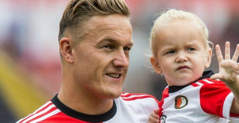 'Werkloze Nederlanders mogen klagen. Niet ik, als ik reserve sta bij Feyenoord'