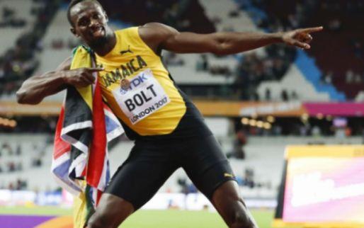 Afbeelding: Bosz verwelkomt Bolt op training; Championship-club biedt legende al stage aan