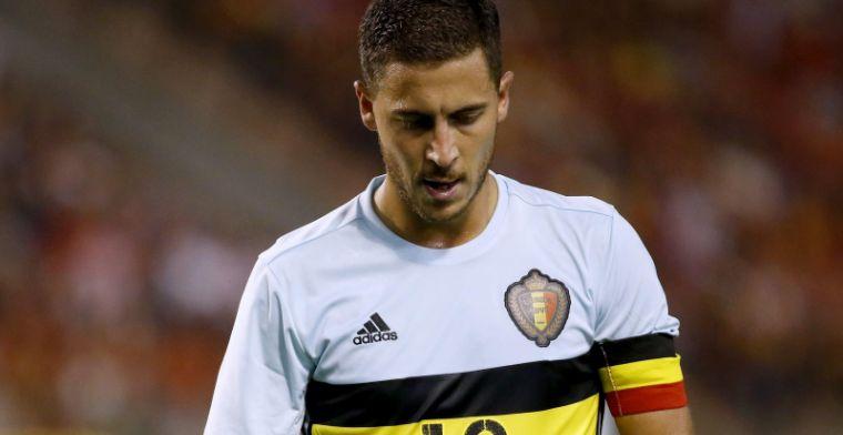 'Hazard komt enkel voor Rode Duivels uit bij toestemming van Chelsea'