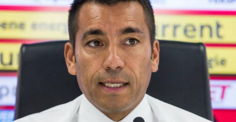 Van Bronckhorst gevraagd naar Ajax-crisis: Zou een heel vervelend seizoen worden