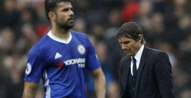 Conte lacht Costa hard uit na interview: 'Dit is funny, hij is verleden tijd'