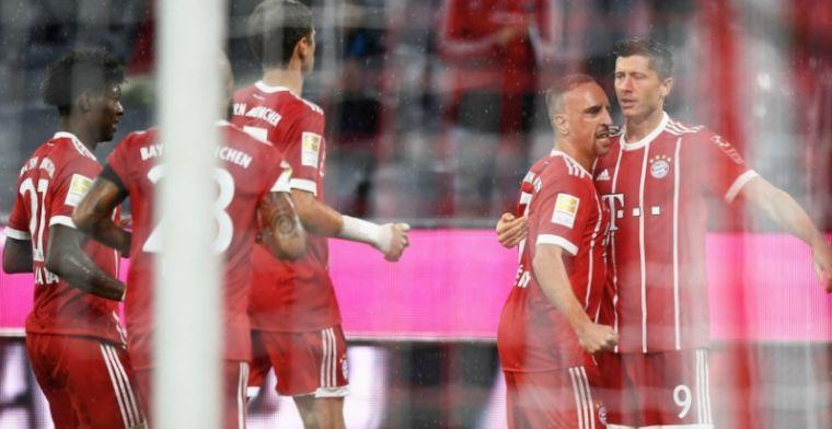 Invaller Robben ziet Bayern eerste duel winnen; wondergoal komt te laat voor Bayer