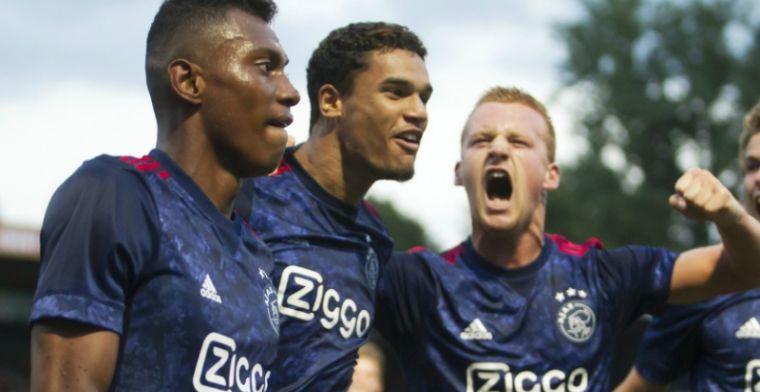 Jupiler League: Jong Ajax en NEC winnen, Go Ahead in slotfase onderuit