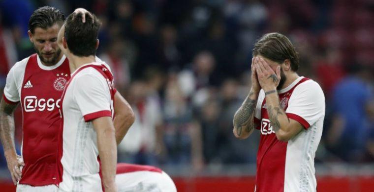 Kranten hard in Ajax-oordeel: 'Van Younes zijn we het gewend, Dolberg zorgelijker'