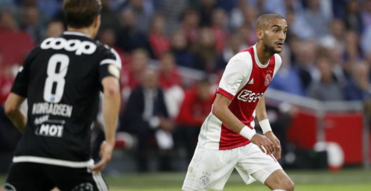 Ziyech haalt uit naar directie: 'Jammer dat Ajax niet van de fouten heeft geleerd'