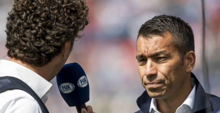 Van Bronckhorst heeft goed nieuws: 'Het gaat beter, hij gaat straks het veld op'