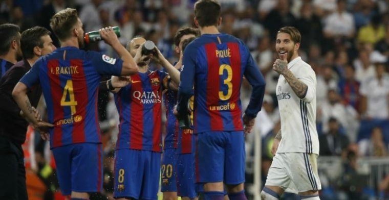 Ramos krijgt 23ste rode kaart en richt zich tot Spaanse refs: 'Kleinzerig'