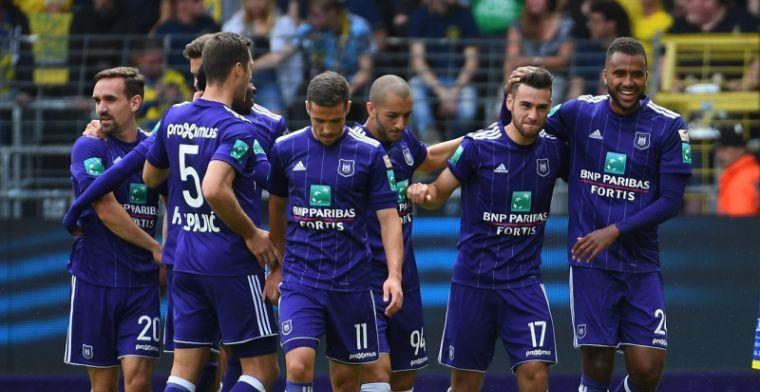 'Anderlecht, Genk, Gent en Oostende mogen zich zorgen maken over Play-Off 1'