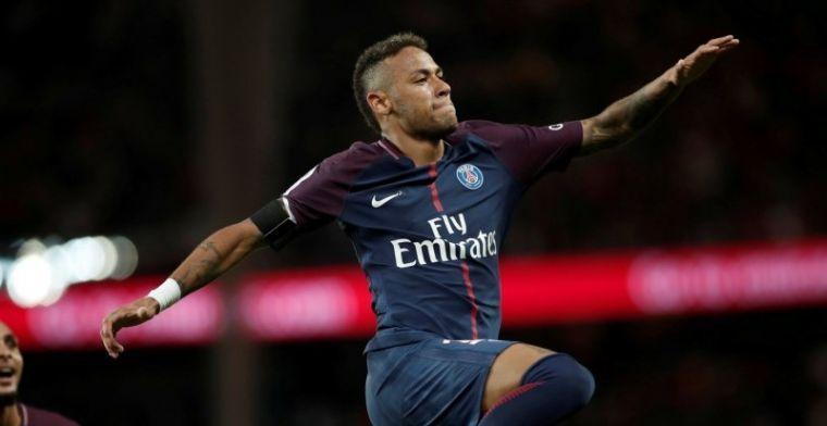 Neymar is terug in Barça en dolt met Messi, Suarez en Piqué: 'Hij blijft'