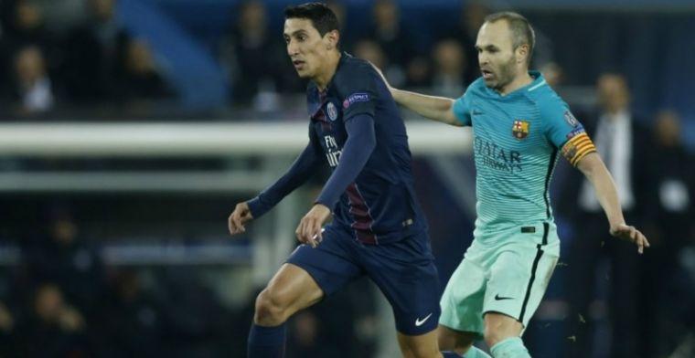 Barca 'presenteert' Di Maria: 'We werken aan een oplossing van het probleem'