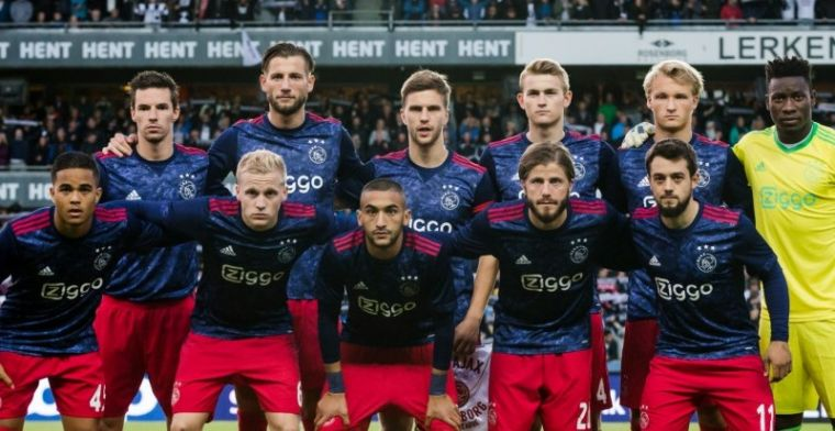 Ajax verzuipt in Trondheim: Younes lichtpuntje, Onana en Van de Beek onder de maat