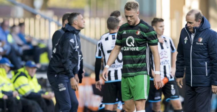 'Domper voor Feyenoord: Jörgensen niet op tijd hersteld voor Eredivisie-kraker'