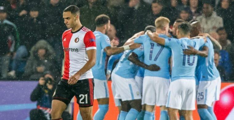 Pijnlijke Champions League-avond voor Feyenoord: City op alle fronten te sterk