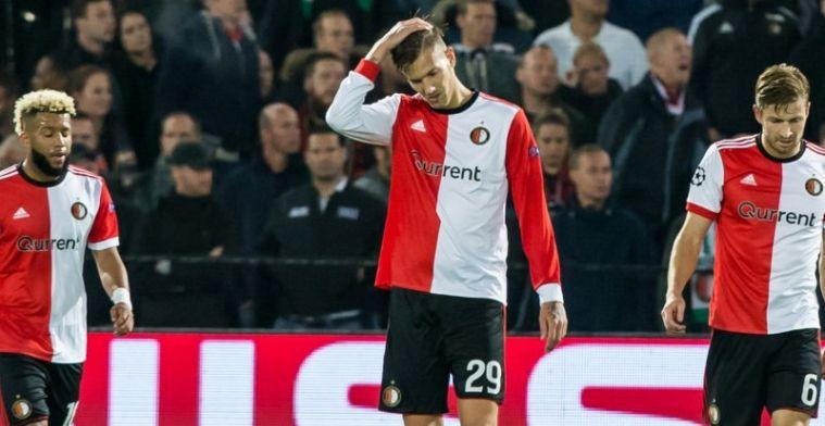 Spelersrapport Feyenoord: dikke onvoldoendes voor Kramer en schlemiel Vilhena