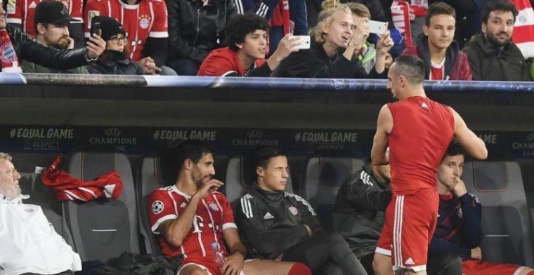 Ribéry haalt woede van Bayern op de hals na wedstrijd tegen RSCA: Niet oké