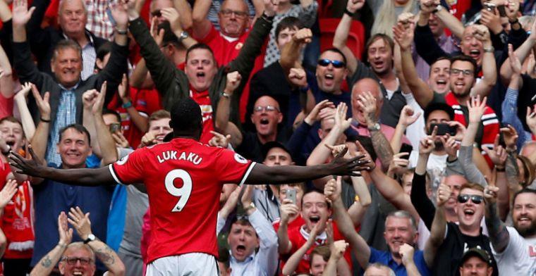 Fans van Manchester United dol op Lukaku: 'Penis van 60 centimeter'
