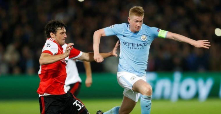De Bruyne: 'Feyenoord heeft niet opgegeven, een trainingspartij was het niet'
