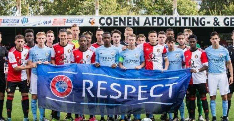 Valse start voor Feyenoord in Youth League, Real Madrid wint met 10-0