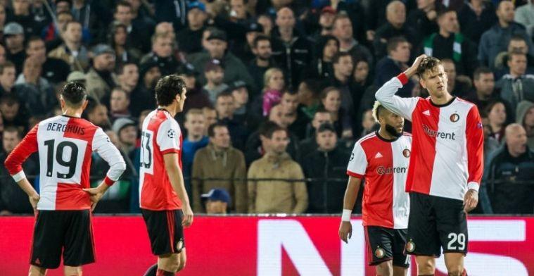 Van Bronckhorst en 'hulpeloze speelbal' Feyenoord aangepakt: 'Er klopte niets van'