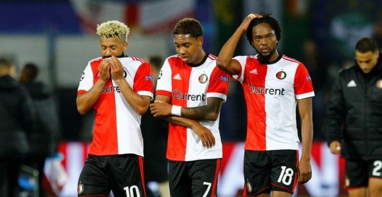Britse media rekenen af met Feyenoord: 'Desastreuze tactiek Van Bronckhorst'