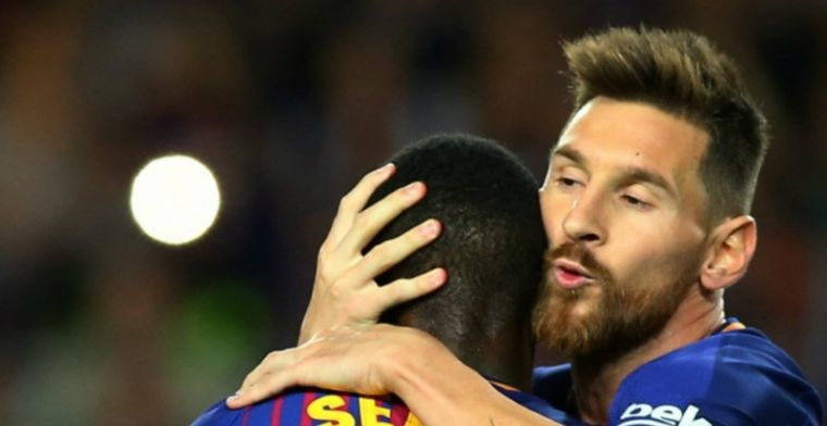 Messi is ongrijpbaar: fenomeen scoort vier keer tijdens grote zege Barça