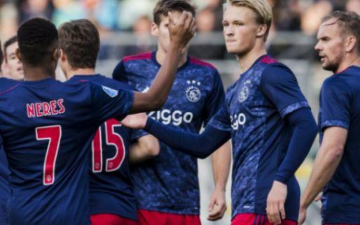 Afbeelding: Ajax worstelt zich naar bekeroverwinning in Den Haag: hattrick Dolberg