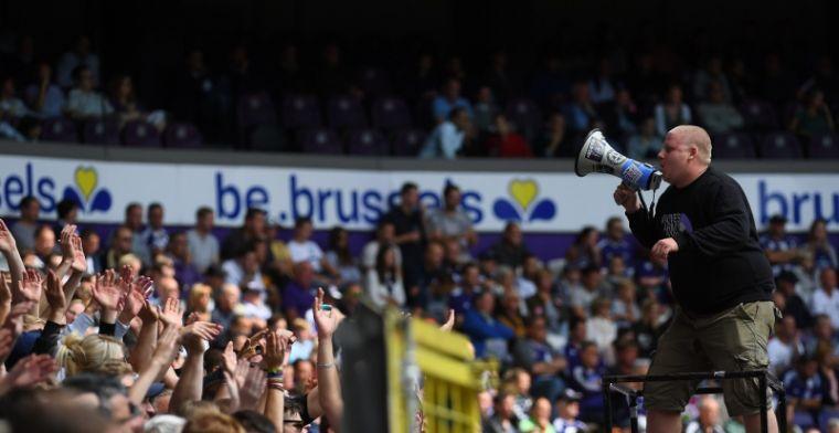 Anderlecht in zwaar weer, maar supporters zorgen voor opsteker