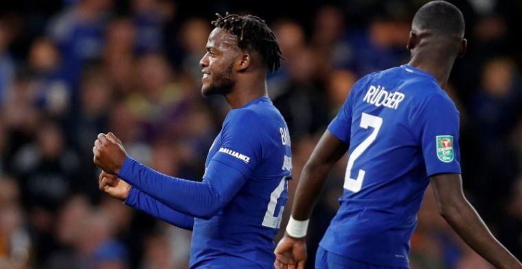 Batshuayi is feestvarken bij Chelsea, ook Arsenal mag ronde verder
