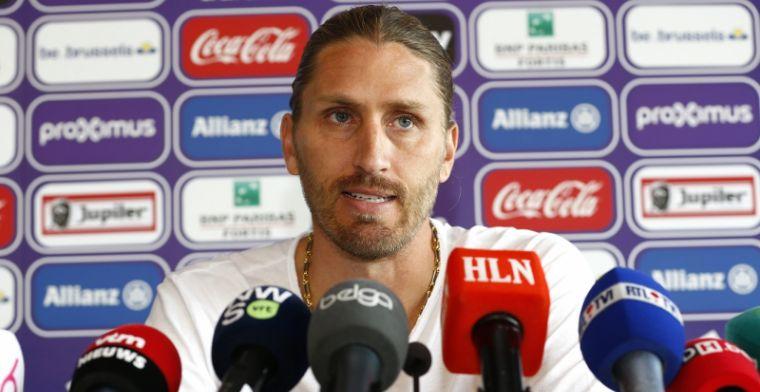 'Frutos neemt vertrouweling mee naar A-kern van Anderlecht'