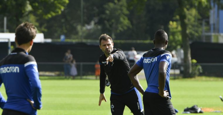 Pech voor Leko, basispion van Club Brugge moet ziek thuisblijven
