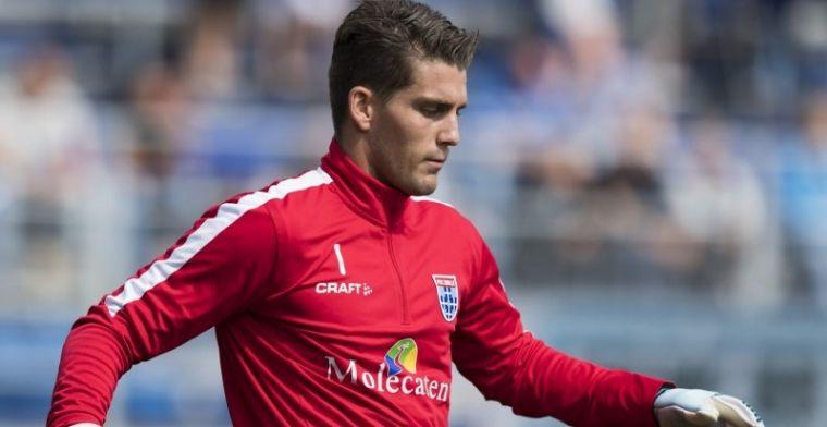 Van der Hart gepasseerd bij PEC: 'Ik sliep slecht, vooral thuis gefrustreerd'