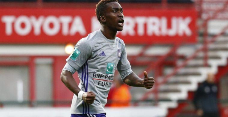 Bekerheld Onyekuru in de spotlights door Anderlecht: Blij dat ik mocht starten