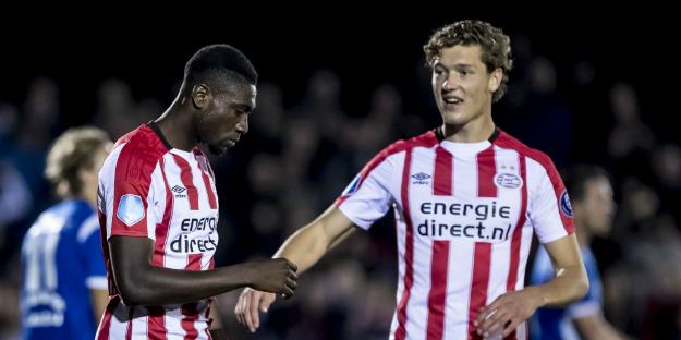 Cocu kritisch op PSV'er: 'Heb twee wedstrijden onder m'n niveau gespeeld'