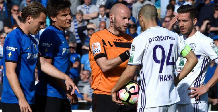 Beloften van Club Brugge en Anderlecht houden elkaar in evenwicht