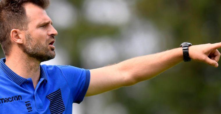 LIVE: Leko blikt vooruit op de topper tegen Charleroi